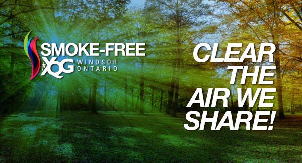 Banner of smoke-free YQG