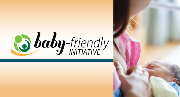 Baby-Friendly Initiative banner