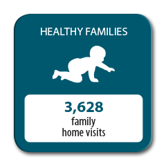 3628 family home visits completed in 2016