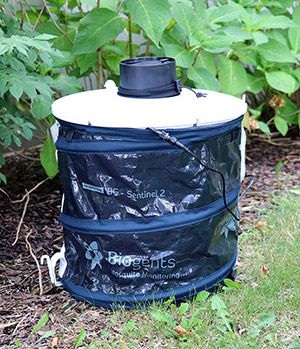 Photo of BG Sentinel 2 mosquito trap