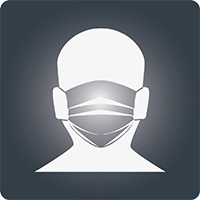 Wear a medical or non-medical mask (e.g, cloth) in public settings.