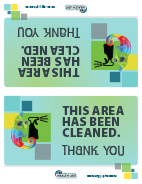 This area has been cleaned