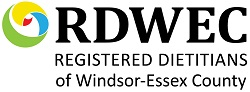 RDWEC - Registered Dietitians of Windsor-Essex County Logo