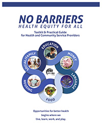 Image of No Barriers - Health Equity for All report cover