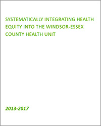 Cover image for Systematically Integrating Health Equity document
