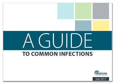 Cover image of A Guide to Common Infections, July 2017