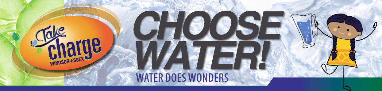 Take Charge - Choose Water banner