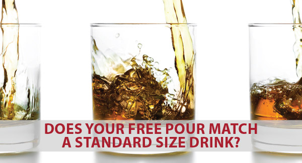 Does your free pour match a standard size drink? Click to find out.