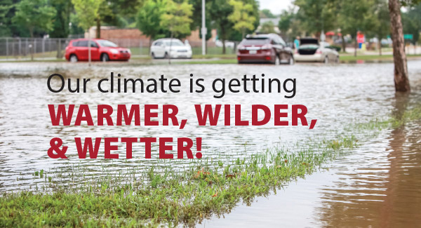 Windsor and Essex County's climate is getting warmer, wilder and wetter!