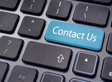 contact us message on enter key, for online contact