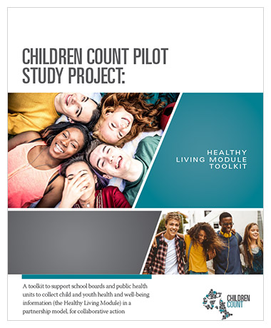Cover image of Children Count Pilot Study Project toolkit cover