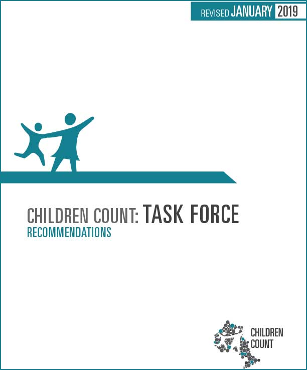 Cover image of Task Force Recommendation report