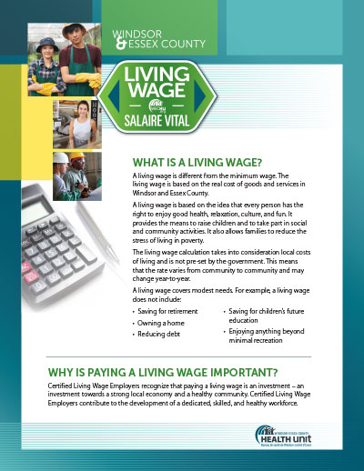 Download Living Wage Promo Flyer