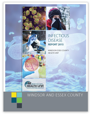 Cover image of Infectious Disease Report - 2015