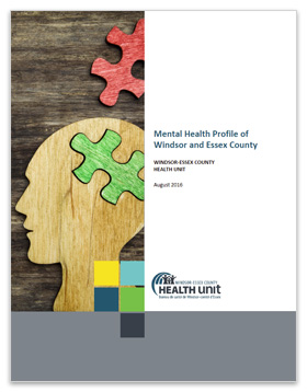 Cover image of Mental Health Profile of Windsor and Essex County
