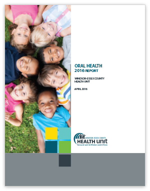Cover image of Oral Health Report