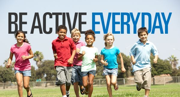 Be Active Everyday - Physical Activity promotional image