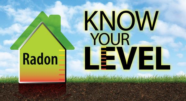 Radon - Know your level graphic
