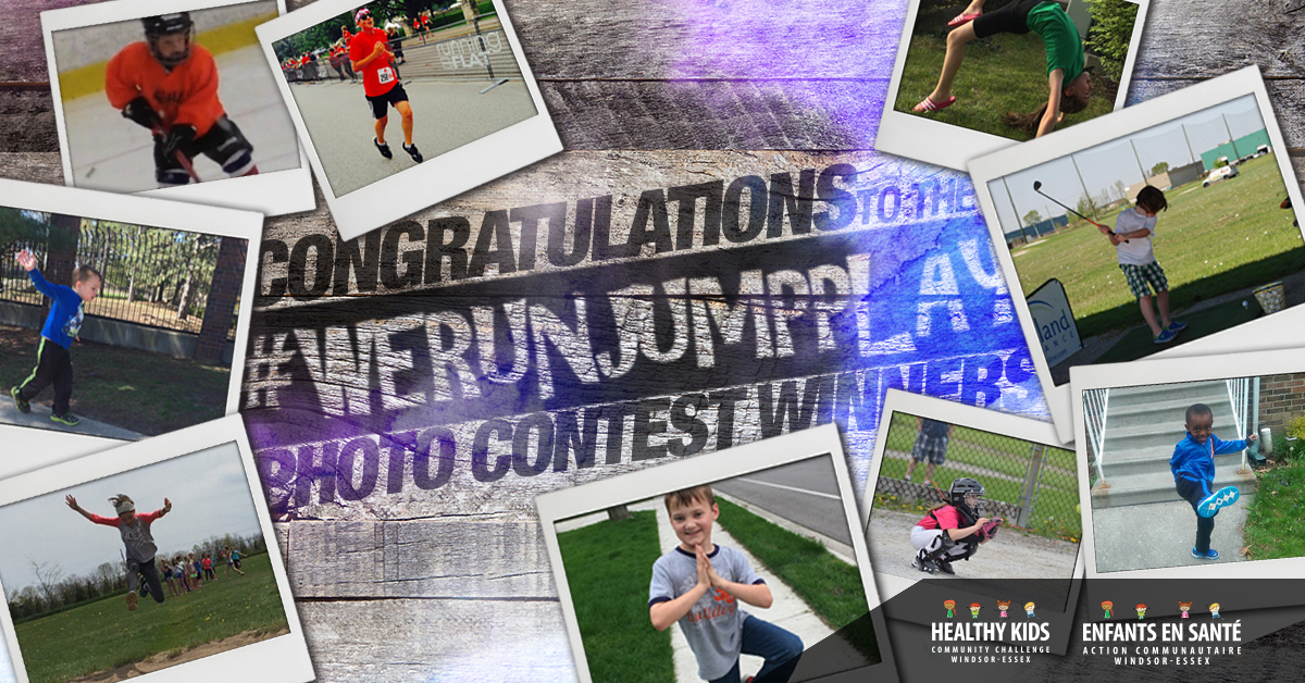 #WERUNJUMPPLAY Photo contest winner banner - photos of winners
